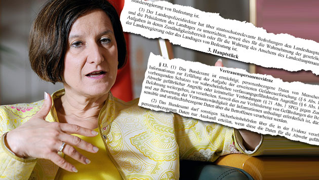 "Debatte um Mikl-Leitners ""Spitzelgesetz"" (Bild: APA/HANS KLAUS TECHT, ""Krone"")"
