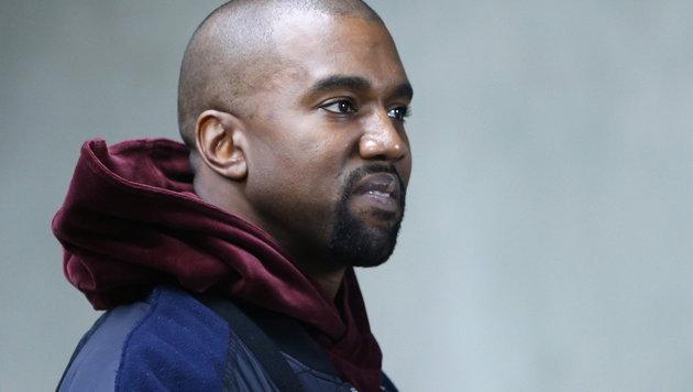 Kim Kardashians Ehemann Kanye West, wie man ihn kennt. (Bild: EPA)