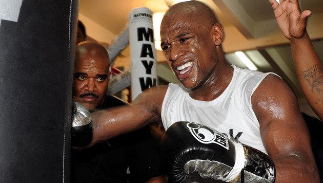 Boxer Mayweather wird reichster Sportler 2015! (Bild: GEPA)