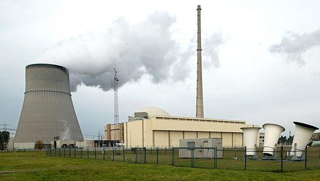Das Kernkraftwerk Emsland in Niedersachsen (Bild: APA/dpa)