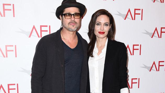 Brad Pitt und Angelina Jolie (Bild: AP)