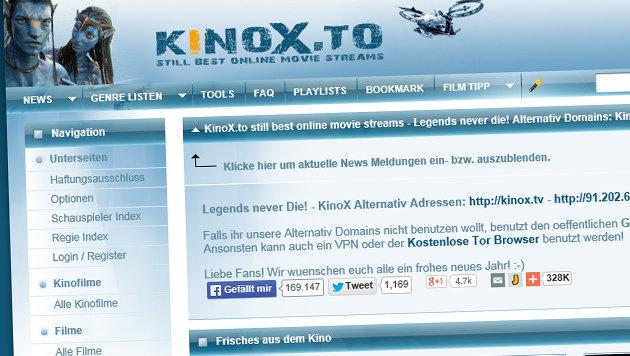 kinox.to-Betreiber stellte sich der Polizei (Bild: kinox.to)