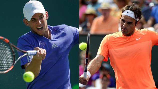 Federer wird Sparringpartner von Thiem (Bild: AP/Lynne Sladky, APA/EPA/MICHAEL NELSON)