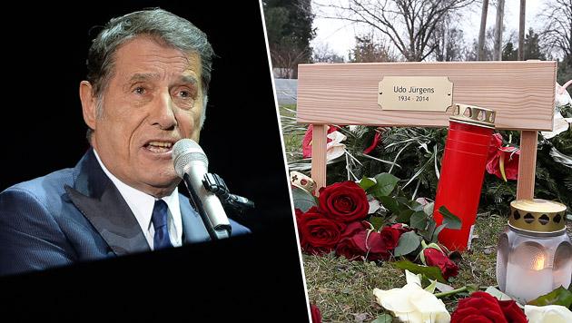 Marmorklavier wird Grab von Udo Jürgens zieren (Bild: APA/BARBARA GINDL, Zwefo)