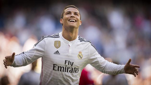 Cristiano Ronaldo (Bild: AP/Daniel Ochoa de Olza)