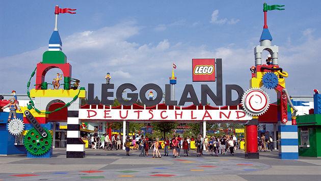 Österreicher stahl im Legoland 120 Spielfiguren (Bild: 2015 The LEGO Group)