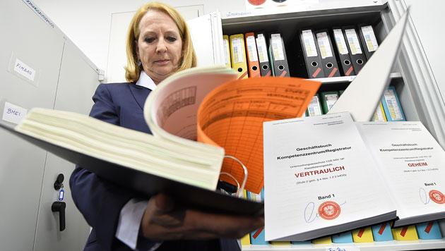 Nationalratspräsidentin Doris Bures, die den Ausschussvorsitz innehat (Bild: APA/HELMUT FOHRINGER, APA/HANS PUNZ)