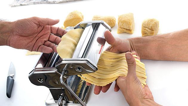 Schmackhafte Pasta ganz einfach selbst machen (Bild: thinkstockphotos.de)