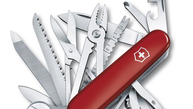 Taschenmesser-Hersteller arbeitet an Smartwatch (Bild: Victorinox)