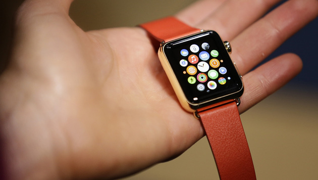 Apple Watch wird hauptsächlich als Uhr genutzt (Bild: AP)