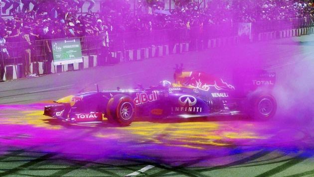 Formel 1 fährt in Wien! Mercedes in Schanghai heiß (Bild: AP)
