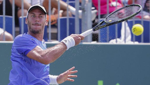 Haider-Maurer steht in Casablanca im Viertelfinale (Bild: APA/EPA/ERIK S. LESSER)