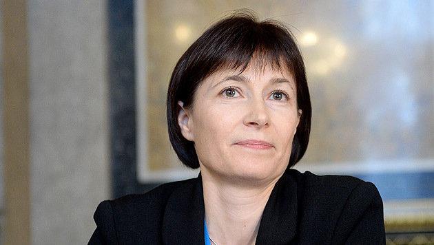 Sabine Kanduth-Kristen wurde als erste Zeugin im U-Ausschuss befragt. (Bild: APA/ROLAND SCHLAGER)
