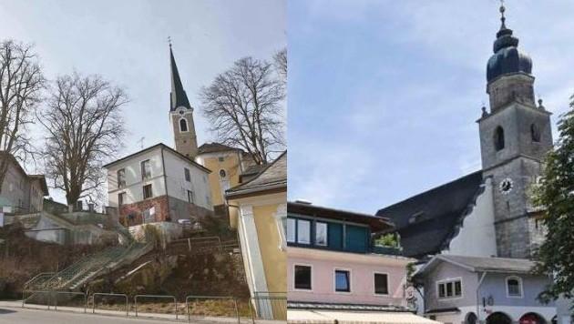 In Neumarkt steht bereits das Bezirksgericht, für Seekirchen spricht das rasante Wachstum. (Bild: Markus Tschepp)