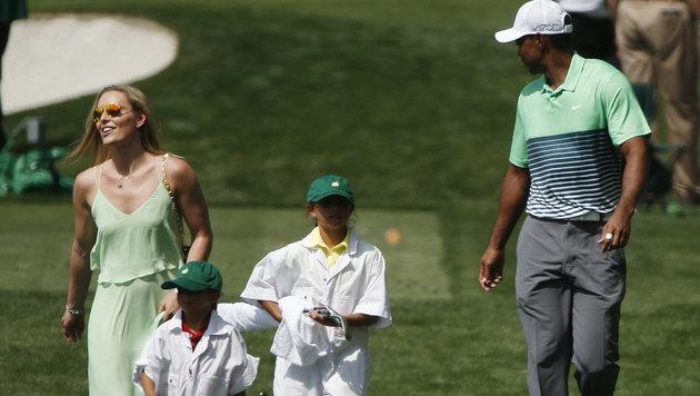 Vonn und Woods: So täuschten sie ihre Fans (Bild: APA/EPA/ERIK S. LESSER)