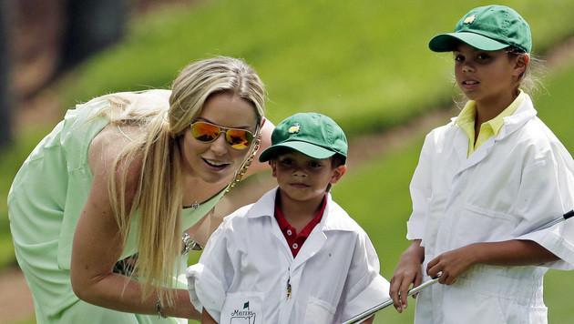 Lindsey Vonn gibt Trennung von Tiger Woods bekannt (Bild: AP)