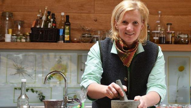 Naturkosmetik: Heidi Huber (Bild: Landwirtschaftskammer Salzburg)