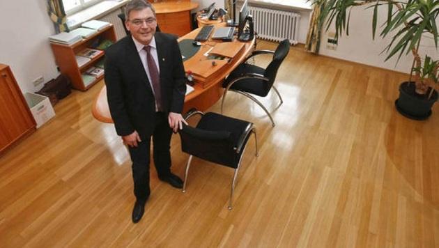 Personal-Landesrat Josef Schwaiger greift in der Verwaltung hart durch. (Bild: Markus Tschepp)
