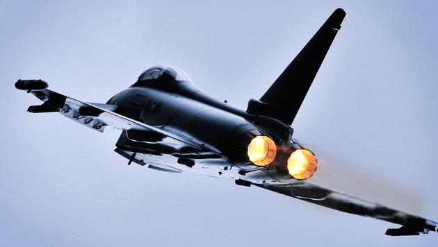 Überschallflüge der Eurofighter über Österreich (Bild: APA/BUNDESHEER/HORST GORUP)