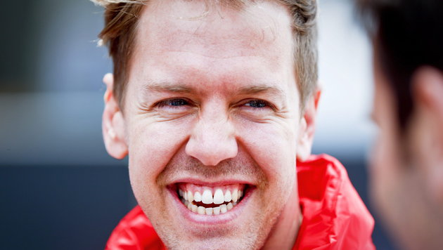"""Vettel: """"Genießen es gerade, sie herauszufordern"""" (Bild: APA/EPA/DIEGO AZUBEL)"""