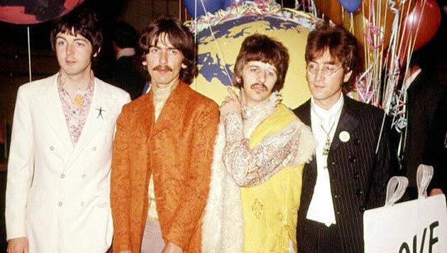 McCartney, Harrison, Starr und Lennon im Juni 1967 (Bild: Press Association/EPA/picturedesk.com)