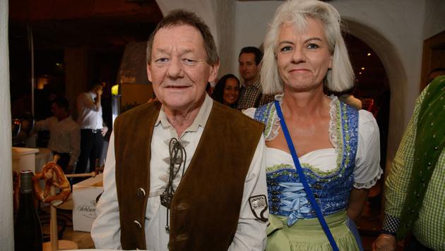 Wolfgang Ambros und seine Uta (Bild: Viennareport)