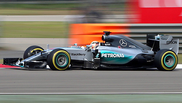 """Hamilton: """"Ferrari & ich? Man soll nie nie sagen"""" (Bild: APA/EPA/WU HONG)"""