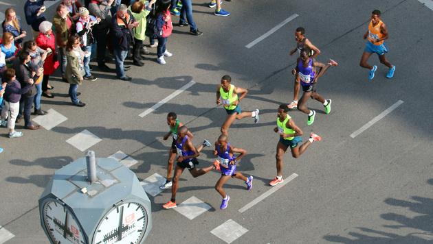 Äthiopier Sisay Lemma gewinnt Wien-Marathon (Bild: AP)