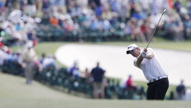 Bernd Wiesberger zum Finale des Golf-Masters stark (Bild: APA/EPA/ERIK S. LESSER)
