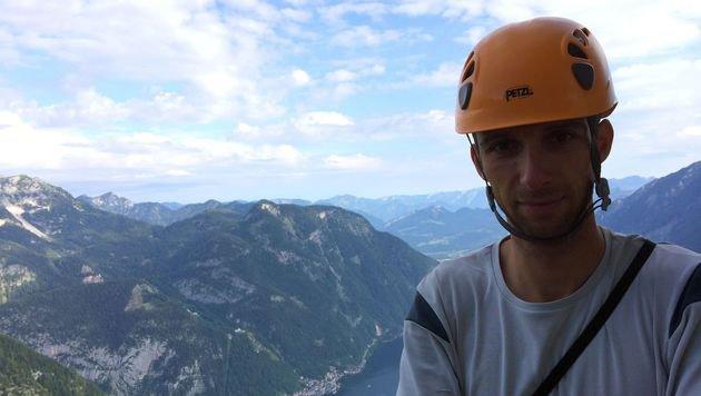Michael Gruber ist als Bergretter und Alpinpolizist oft im Einsatz. (Bild: Bergrettung Hallstatt)