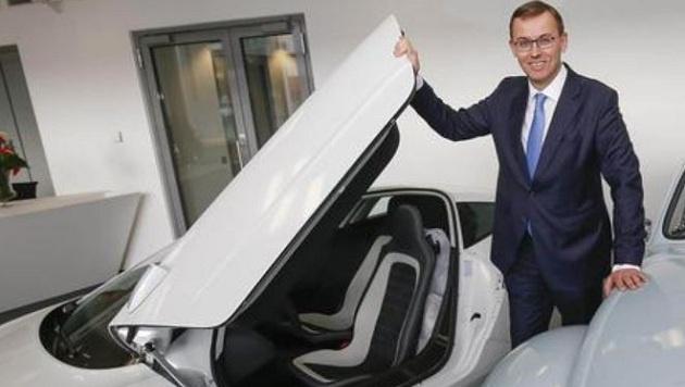 Alain Favey, Vorstand der Porsche Holding (Bild: Markus Tschepp)