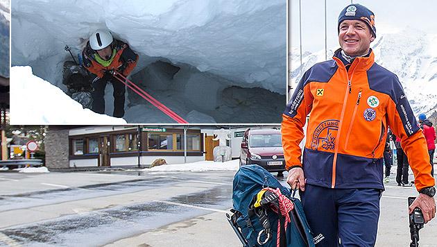 skitourengeher aus gletscherspalte gerettet nach 24. Black Bedroom Furniture Sets. Home Design Ideas