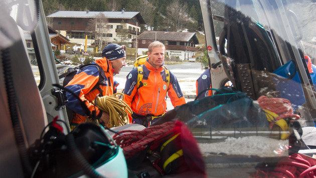 Skitourengeher aus Gletscherspalte gerettet (Bild: APA/EXPA PICTURES/JFK)