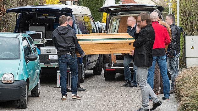 34-Jähriger erschlägt Mutter mit Stein - Festnahme (Bild: APA/FOTOKERSCHI.AT/WERNER KERSCHBAUMMAYR)