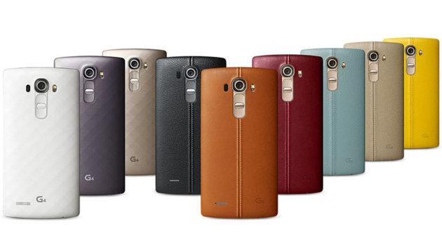 LG G4: Das erste Leder-Smartphone am Prüfstand (Bild: LG)