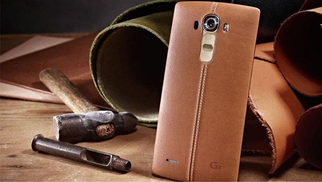Leder-Smartphone mit Android 5: LG enthüllt das G4 (Bild: LG)