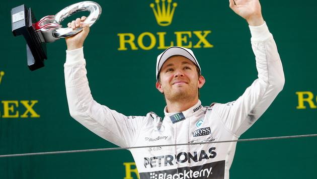 Rosberg legt Zwist mit Hamilton ad acta (Bild: APA/EPA/DIEGO AZUBEL)