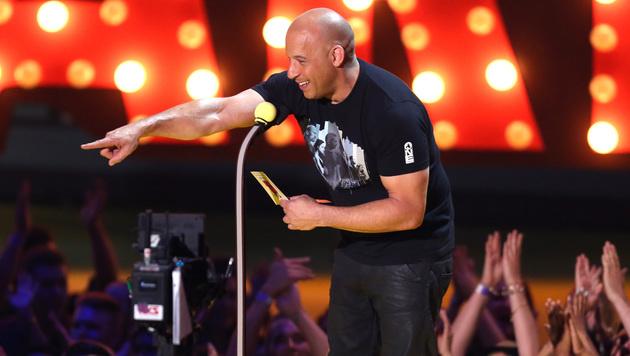 Vin Diesel gab spontan ein Ständchen zum Besten. (Bild: Matt Sayles/Invision/AP)