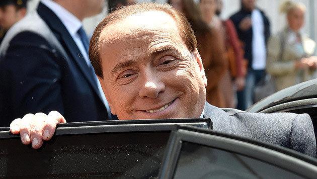 Ex-Premier Silvio Berlusconi (Bild: APA/EPA/ETTORE FERRARI)