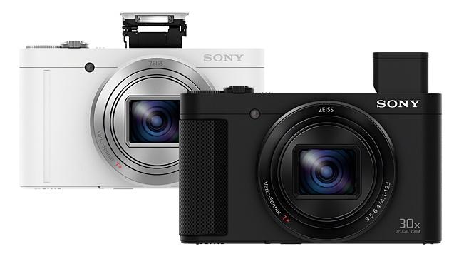 Sony HX90 und WX500: Neue Kompakte mit großem Zoom (Bild: Sony)