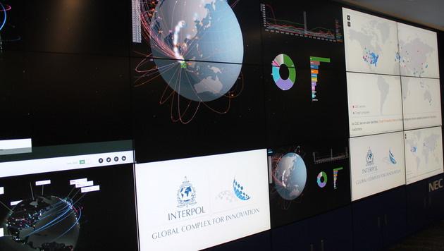 Die Interpol-Messe bietet allerlei Hightech rund um den Kampf gegen kriminelle Energie. (Bild: Klaus Loibnegger)