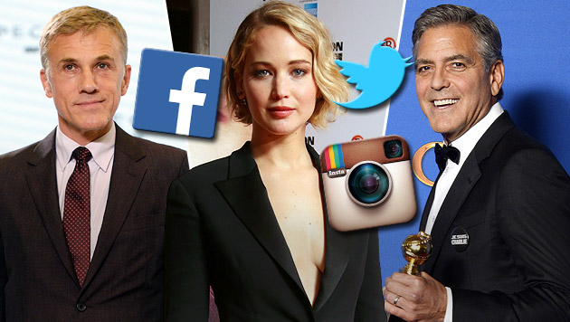 Diese Stars verweigern Facebook, Twitter & Co. (Bild: APA/EPA/FACUNDO ARRIZABALAGA, AP, APA/EPA/PAUL BUCK)