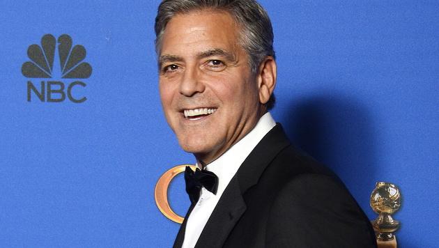 """George Clooney findet die Vorstellung, """"unsere Gedanken in 140 Zeichen verkünden wollen"""" absurd. (Bild: APA/EPA/PAUL BUCK)"""