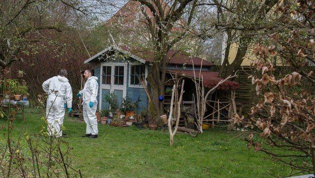 In ihrem Garten in Steyr wurde die Ärztin Dr. Hildegard K. von ihrem Sohn getötet. (Bild: Werner Kerschbaummayr)