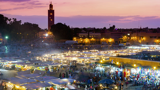 Marrakesch: Perle des Orients (Bild: thinkstockphotos.de)