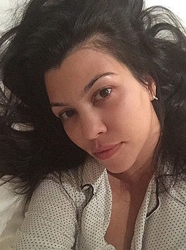 Kourtney Kardashian natürlich schön (Bild: Viennareport)