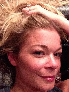 LeAnn Rimes hat dieses Foto von sich ohne Make-up veröffentlicht. (Bild: Viennareport)