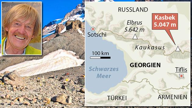 Alpinist Edi Koblmüller und Bergkameradin erfroren (Bild: Chris Koller, thinkstockphotos.de, APA)