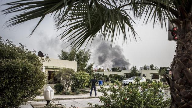 IS setzte Senfgas gegen Kurden ein (Bild: APA/EPA/ASGER LADEFOGED)