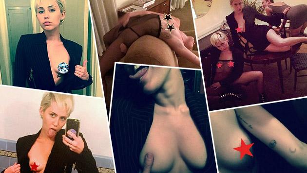 Miley Cyrus feiert wilde Busen-Party (Bild: instagram.com/mileycyrus)